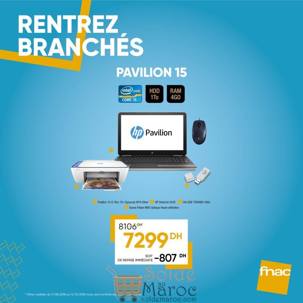 Promo Fnac Maroc Packs PC Spéciale Rentrée