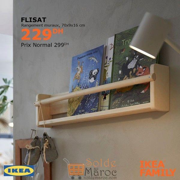 Soldes Ikea Family Rangement muraux FLISAT 229Dhs au lieu de 299Dhs