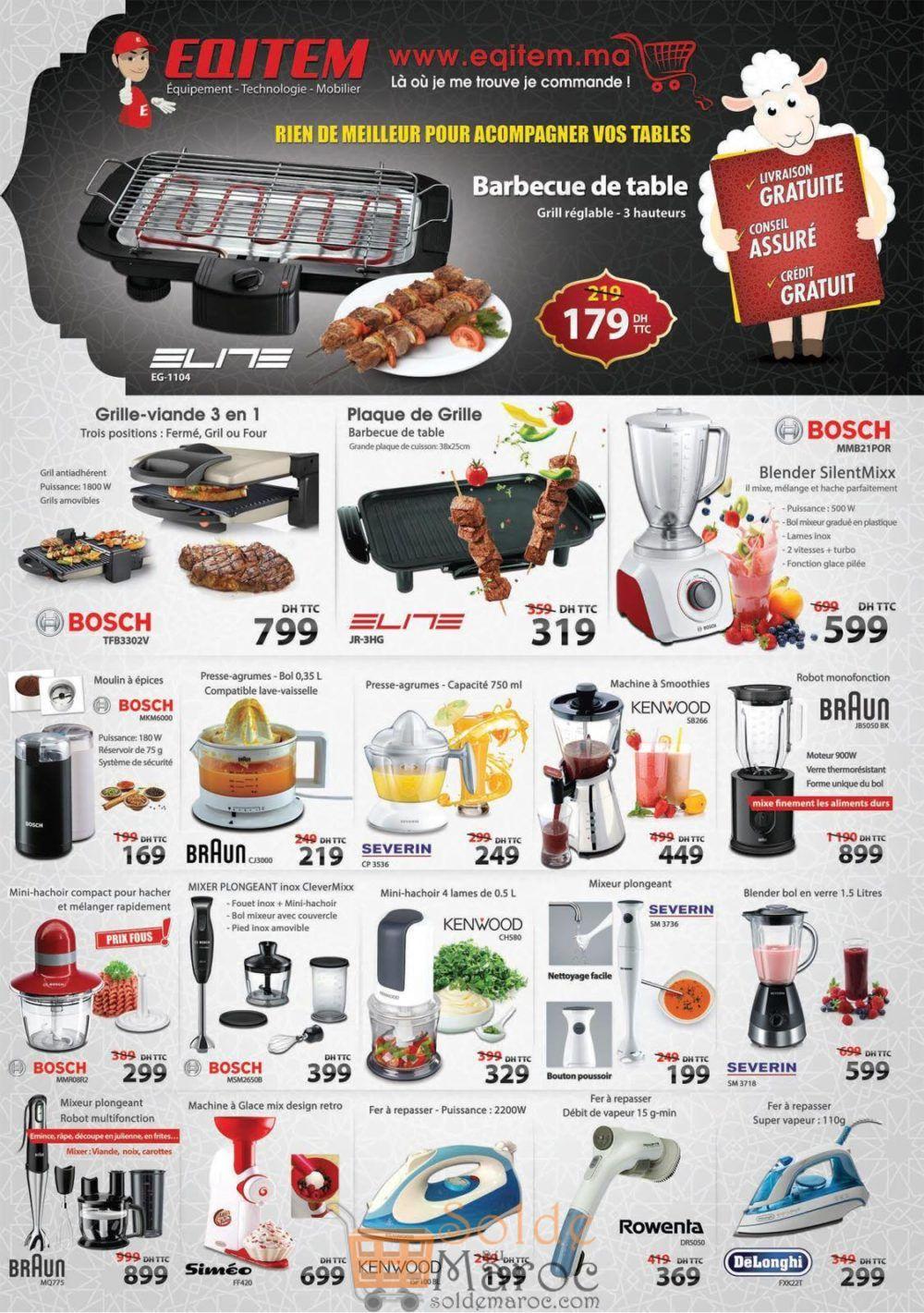Catalogue Eqitem Electro Spéciale عيد الأضحى Août 2018