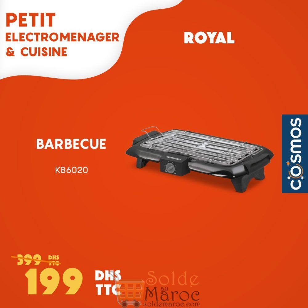 Promo Cosmos Electro Barbecue Royal 199Dhs au lieu de 399Dhs