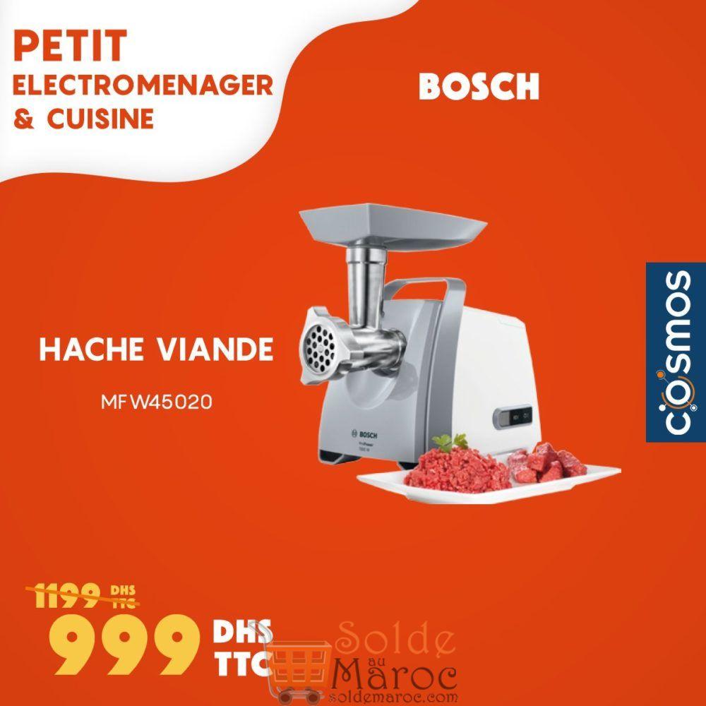 Promo Cosmos Hache Viande Bosch 999Dhs au lieu de 1199Dhs