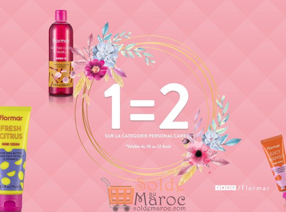 Promo Flormar Maroc 1=2 Catégorie Personal Care Jusqu'au 12 Août 2018