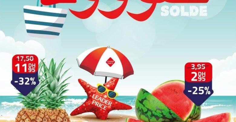 Photo of Les fruits d'été à petits prix chez Leader Price Pastèque 2.95Dhs