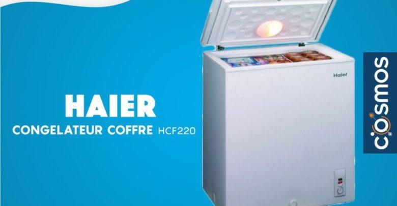 Promo Cosmos Electro Congélateur Coffre HAIER 1999Dhs au lieu de 2599Dhs