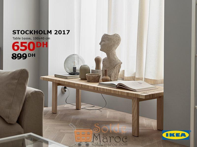 soldes ikea maroc table stockholm 650dhs. Black Bedroom Furniture Sets. Home Design Ideas