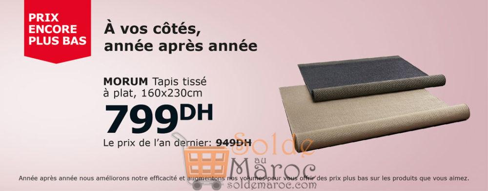 Soldes Ikea Maroc Tapis Tisse A Plat Morum 799dhs Au Lieu De 949dhs