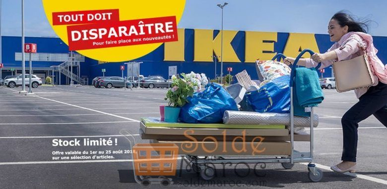 Photo of Tout doit Disparaître Ikea Maroc du 1er au 25 août 2018