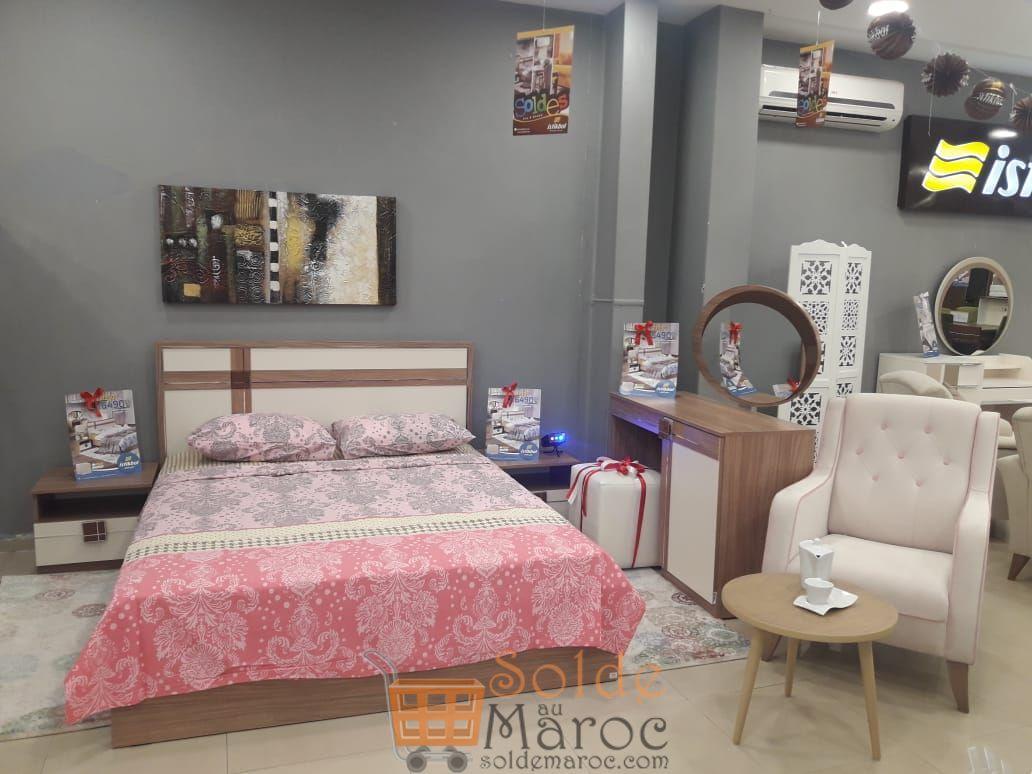 Soldes Istikbal Maroc Chambre Kayra et Vesta 6490Dhs au lieu de 9230Dhs