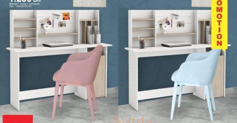 Photo of Promo Kitea Bureau 1 caisse + sur-meuble 1250Dhs
