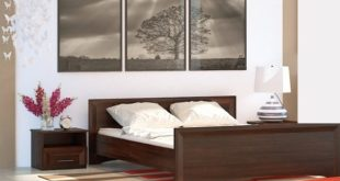 Promo Azura Home LIT SAVIA + 2 CHEVETS 1790Dhs au lieu de 2890Dhs