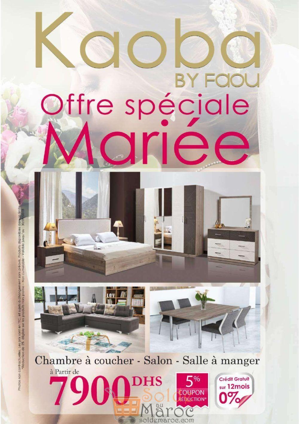 Catalogue Kaoba Spéciale Mariage 2018