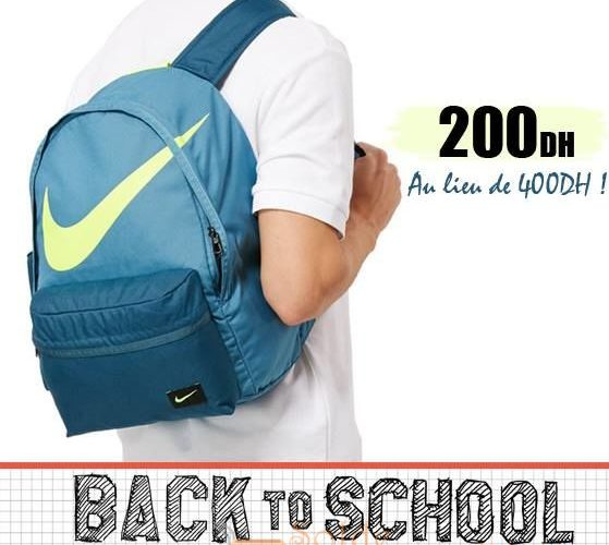 Promo Olympe Store Sac à dos Garçon Nike 200Dhs au lieu de 400Dhs