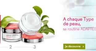 Promo Yves Rocher Maroc -40% sur TOUT le soin visage