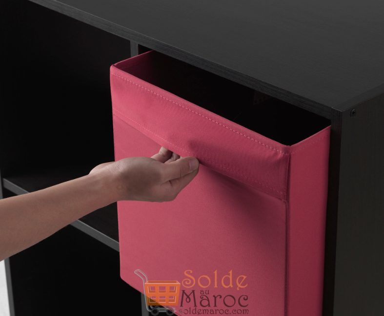 Soldes Ikea Maroc Boîte Rouge clair DRÖNA 35Dhs au lieu de 49Dhs