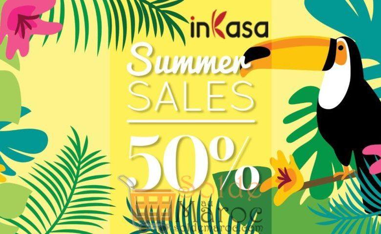 Spéciale Promo عيد الأضحى inKasa Summer Sales 50%