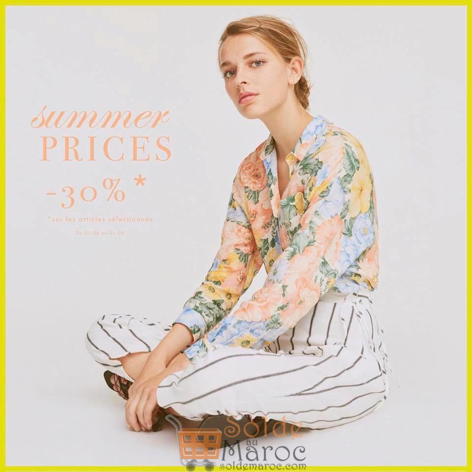 Summer Prices chez UTERQUE Maroc du 1 au 21 Août 2018