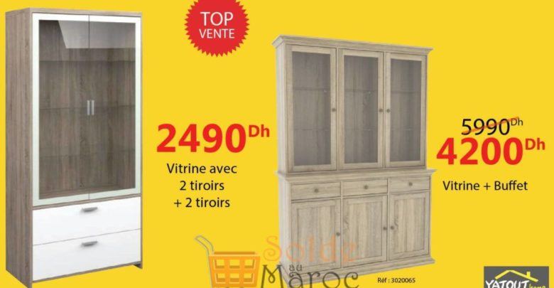 Photo of Promo Top vente Yatout Home Vitrine + Buffet 4200Dhs