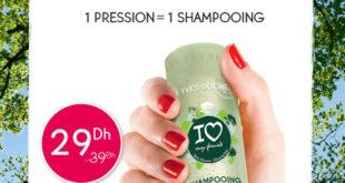 Promo Yves Rocher Maroc Shampoing Concentré 29Dhs au lieu de 39Dhs