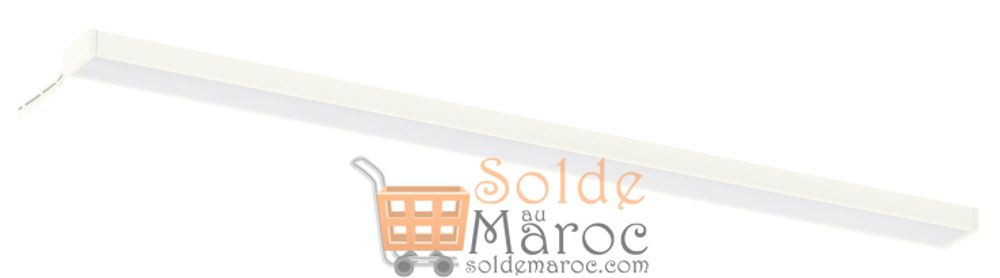 Soldes Ikea Maroc Eclairage plan travail à LED OMLOPP Blanc 180 Dhs au lieu de 249Dhs