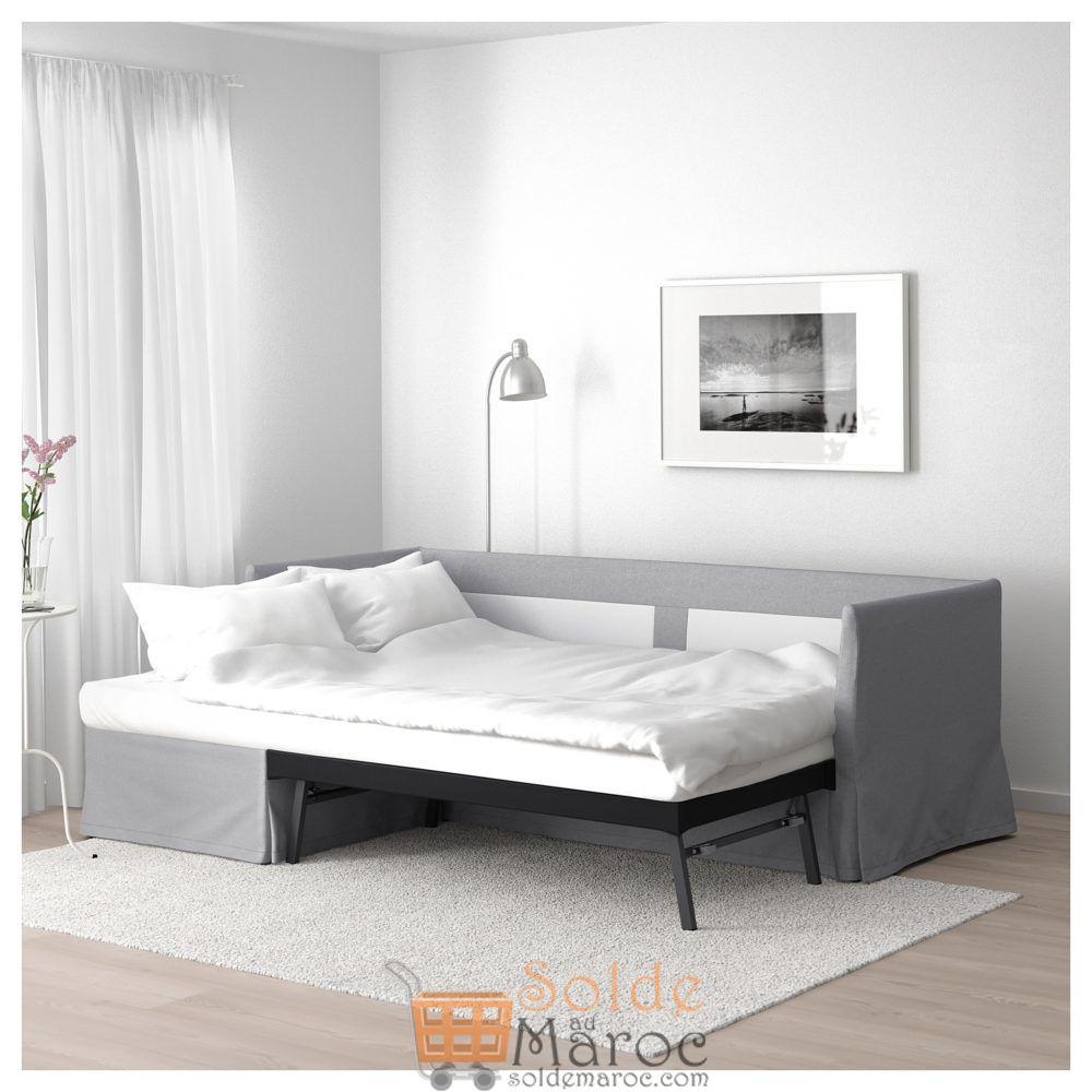 Promo Ikea Maroc Canape Lit D Angle Sandbacken Frillestad Gris Clair
