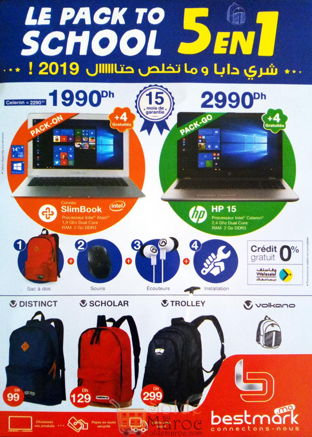 Flyer Bestmark Le Pack to School 5 en 1