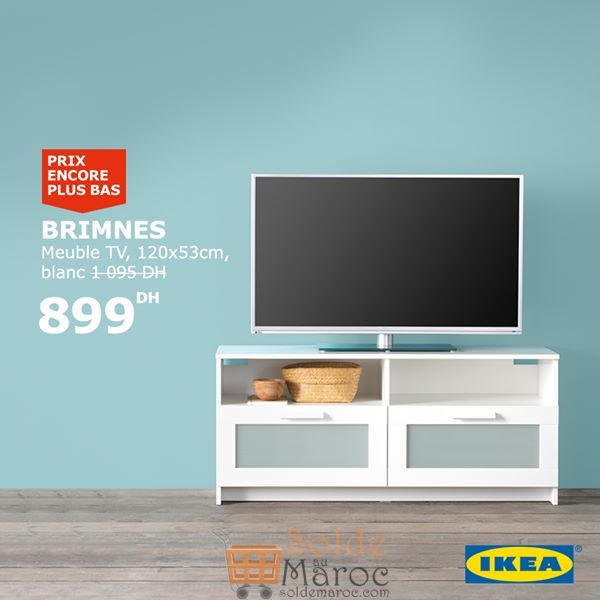 soldes ikea maroc meuble tv brimnes 899dhs au lieu de 1095dhs. Black Bedroom Furniture Sets. Home Design Ideas