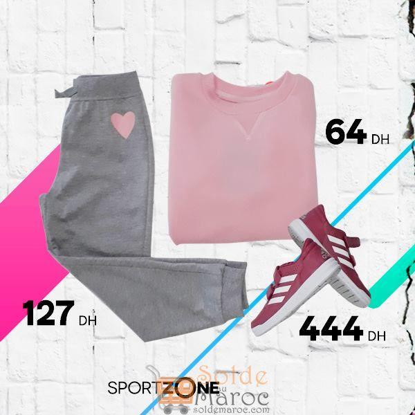 Promo Sport Zone Maroc Articles de sports pour filles