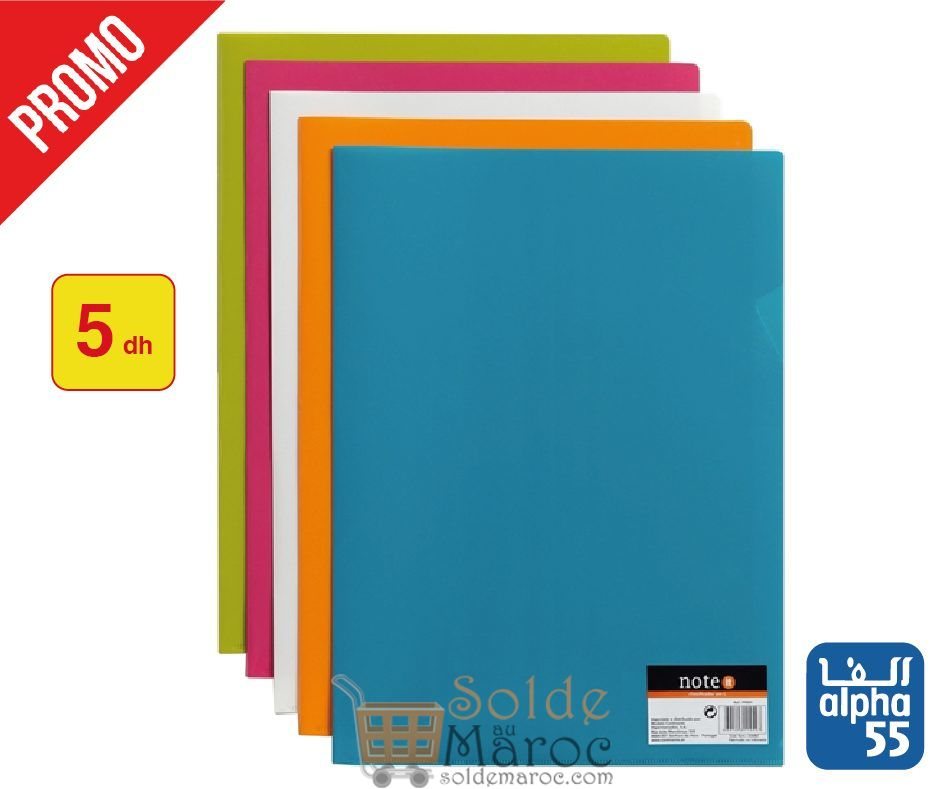 Promo Alpha55 Collection de fournitures scolaires