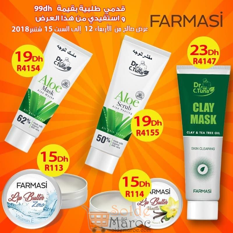 Hmizat Farmasi Maroc jusqu'au 15 Septembre 2018