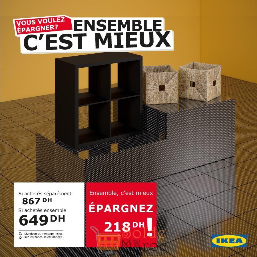 Promo Ikea Maroc c'est mieux ensemble