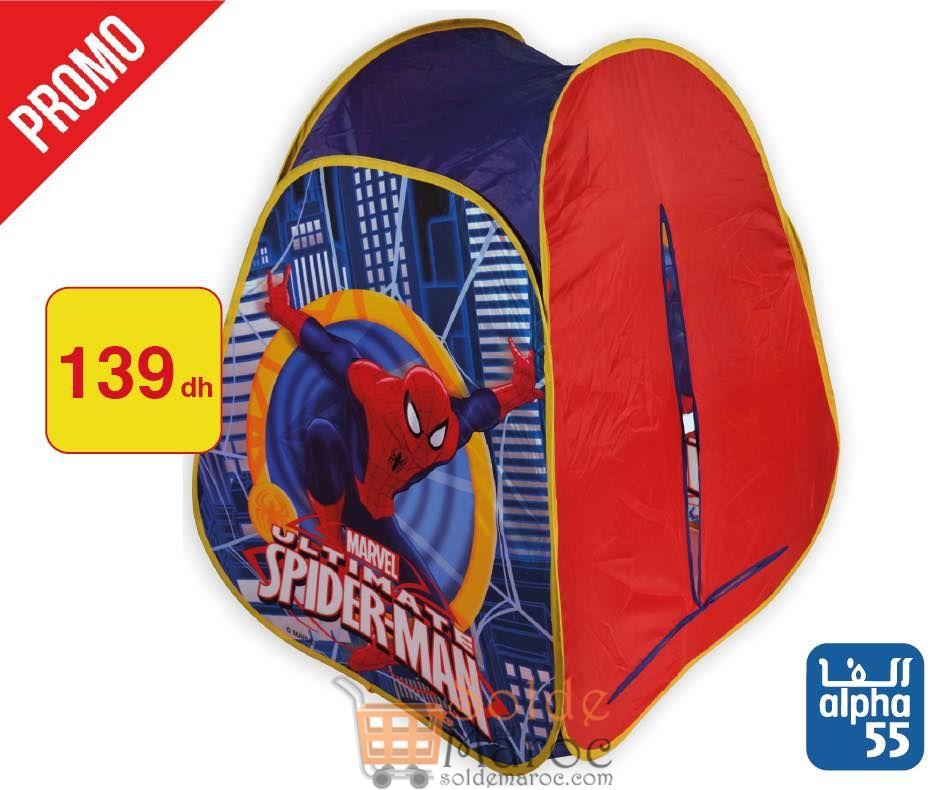 Promo Alpha55 Gamme complète de Spiderman
