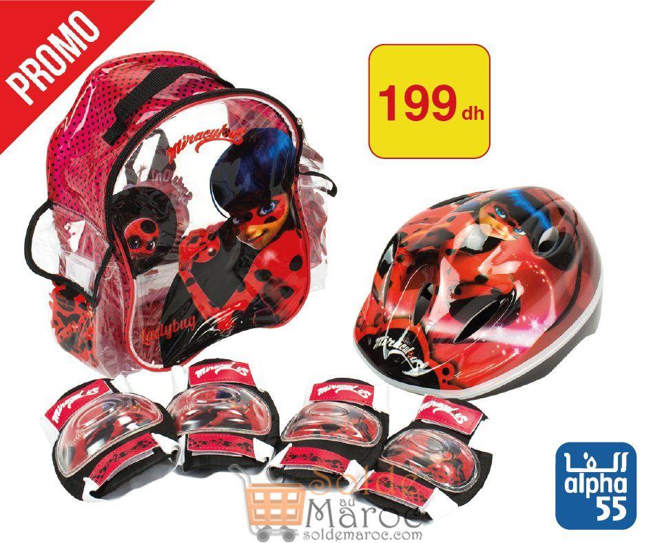 Promo Alpha55 Pack protection roller Fille et Garçon