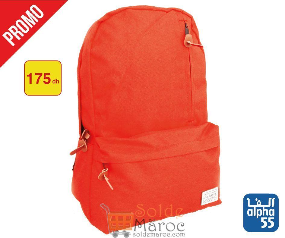 Promo Alpha55 Spéciale de sacs à dos simple 175Dhs