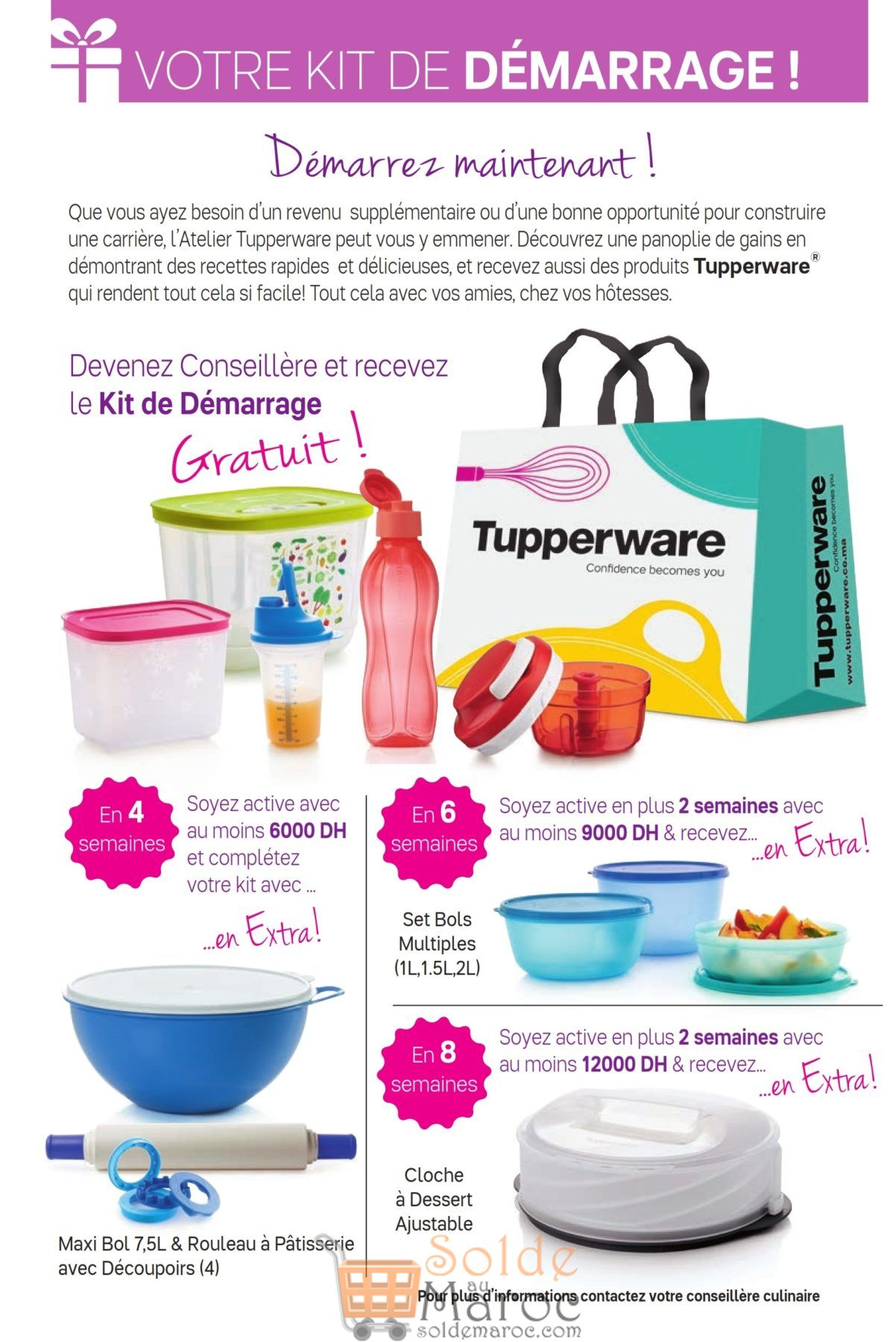 Catalogue Tupperware Maroc Jusqu'au 30 Septembre 2018