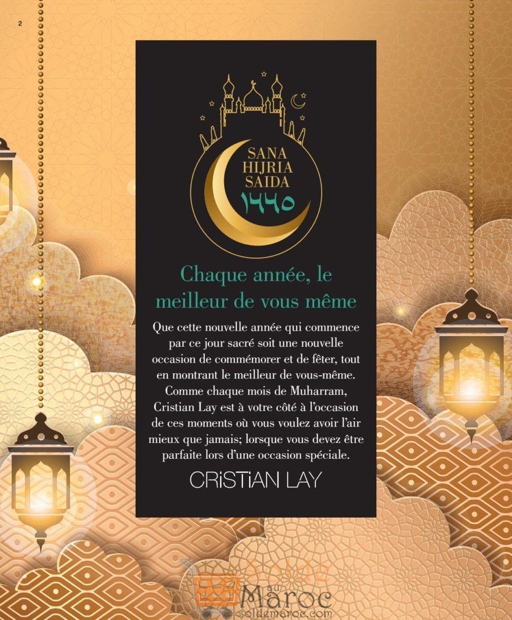 Catalogue Cristian Lay Maroc du 17 Septembre au 11 Octobre 2018