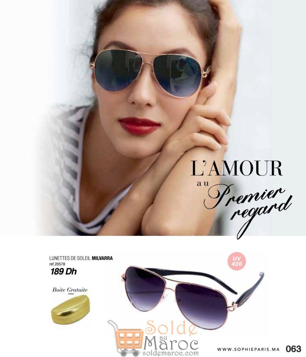 Catalogue Sophie Paris Maroc Octobre 2018