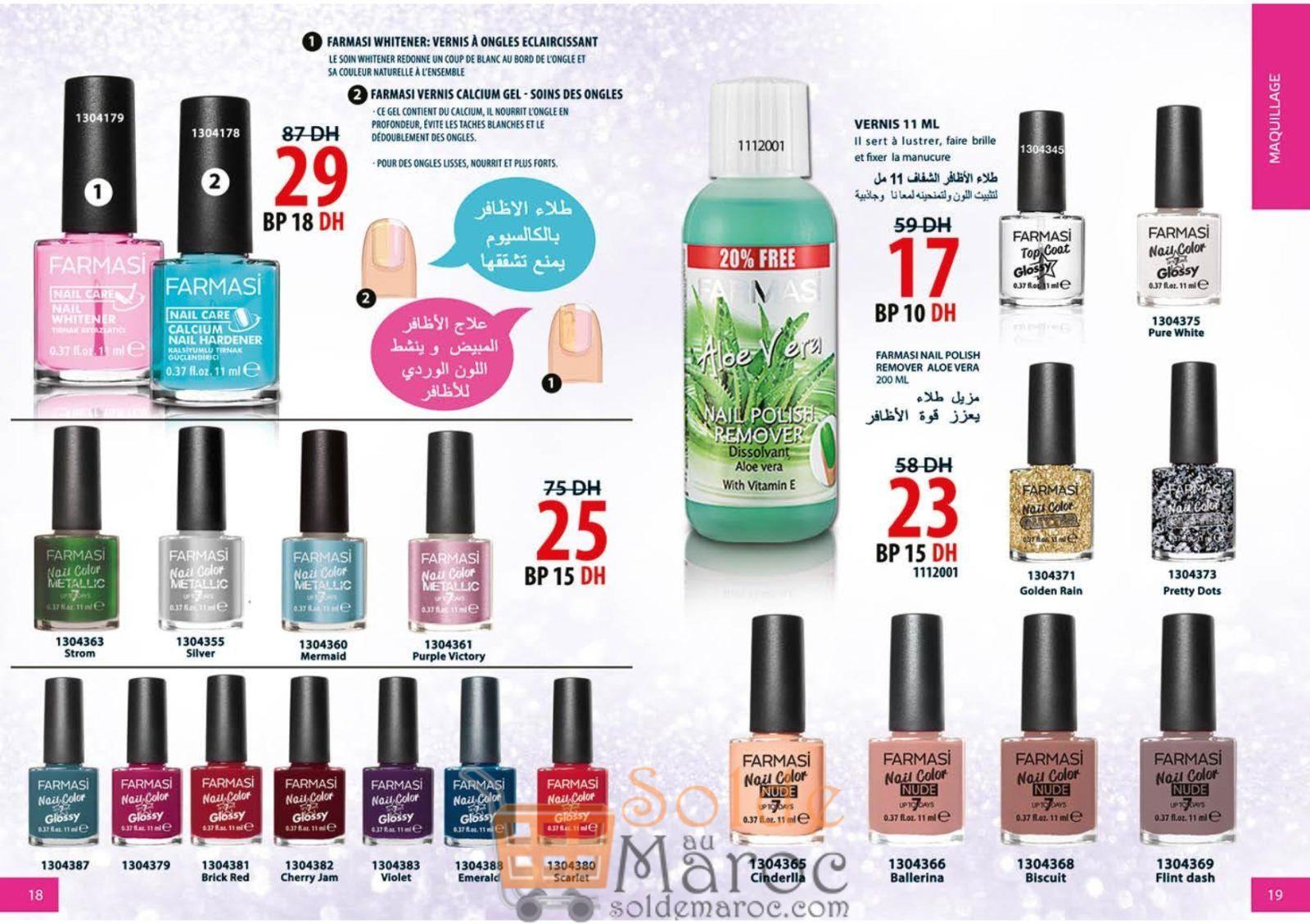 Catalogue Farmasi Maroc Octobre 2018
