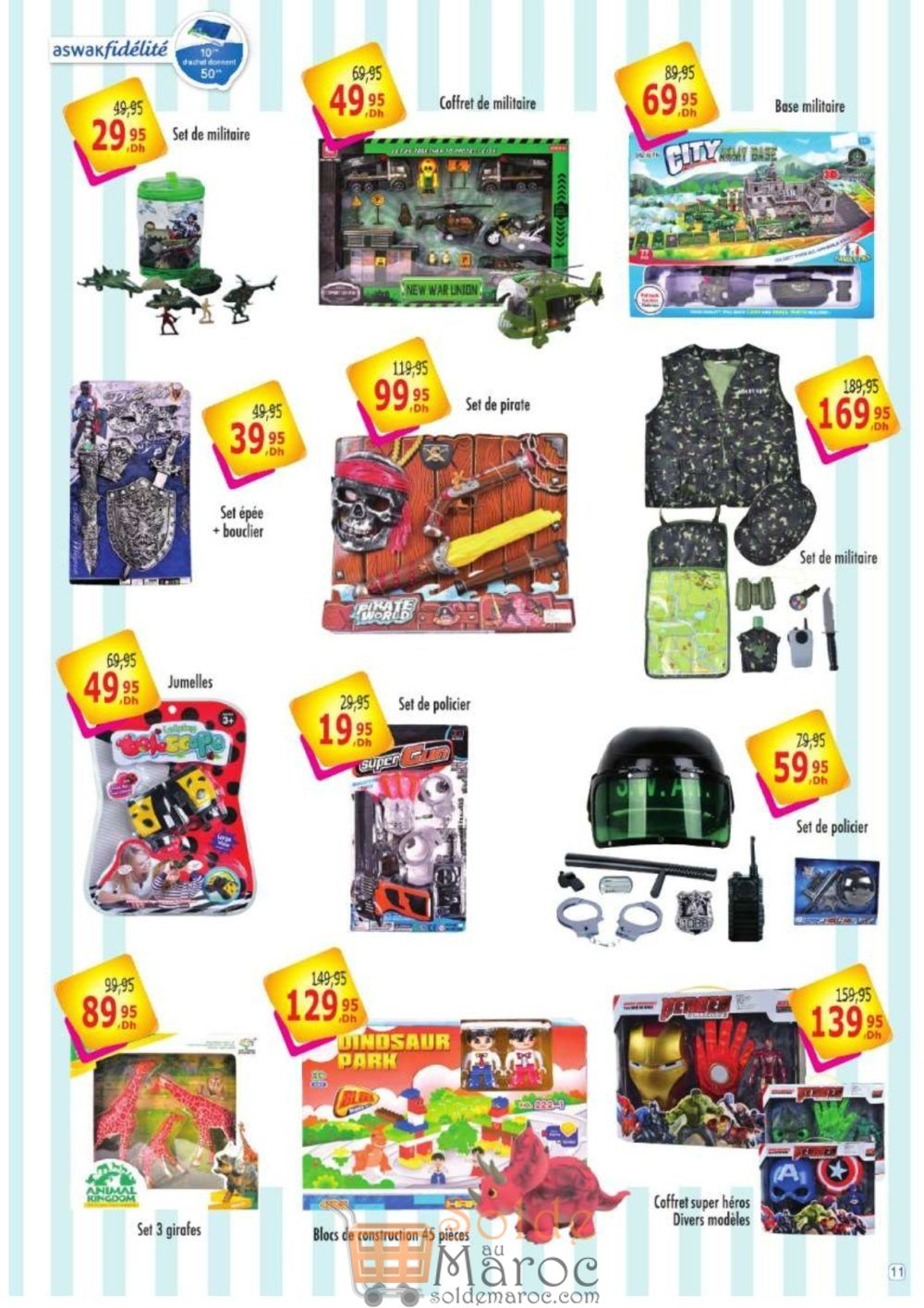 Catalogue Aswak Assalam Spéciale Achoura du 14 Septembre au 3 October 2018
