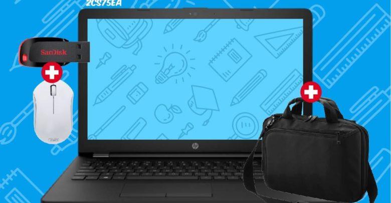 Offre Spéciale Biougnach Laptop HP i5 500Go 4Go RAM + Sacoche 5990Dhs au lieu de 6390Dhs