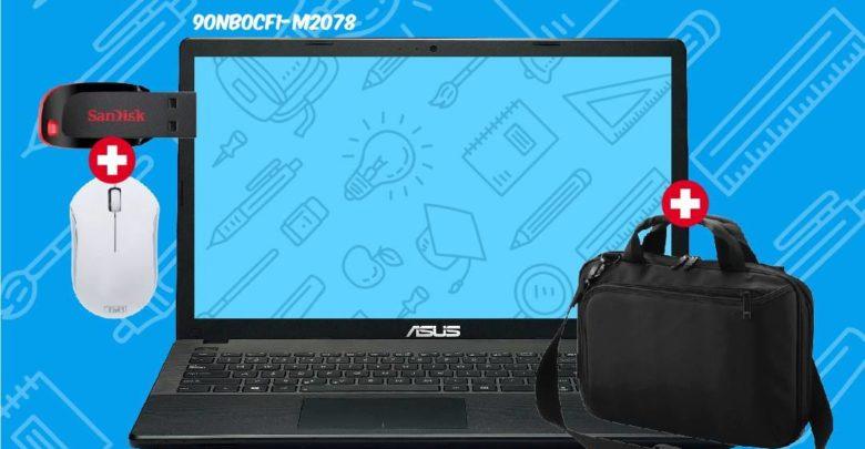 Promo Biougnach Laptop Asus i5 500Go 4Go RAM + Sacoche + Souris Sans Fil +USB 32Go 5699Dhs au lieu de 5890Dhs