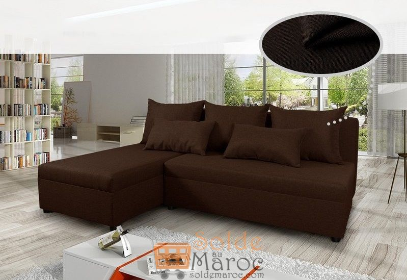 Promo Azura Home CANAPÉ D'ANGLE RÉVERSIBLE PERTH 4790Dhs au lieu de 6490Dhs