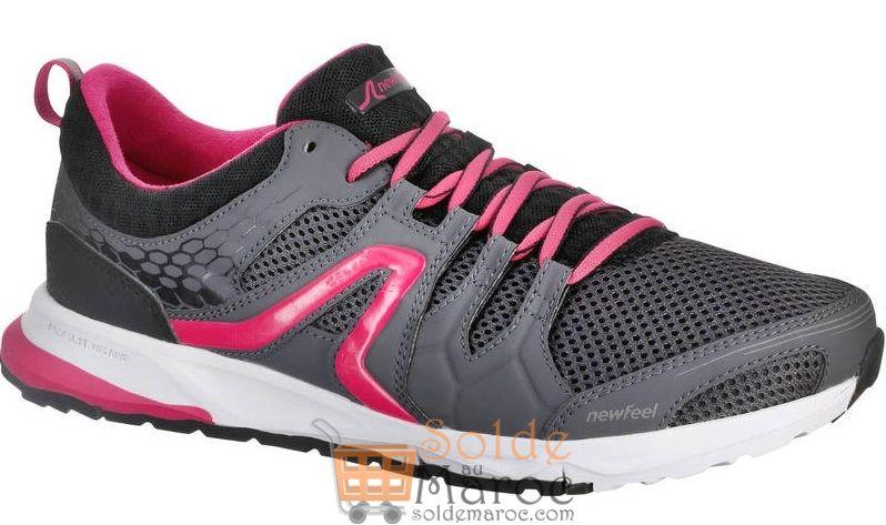 c70e26ffbec1b Femme Gris Sportive 240 Marche Pw Chaussures Rose Promo Decathlon Tq7aTO