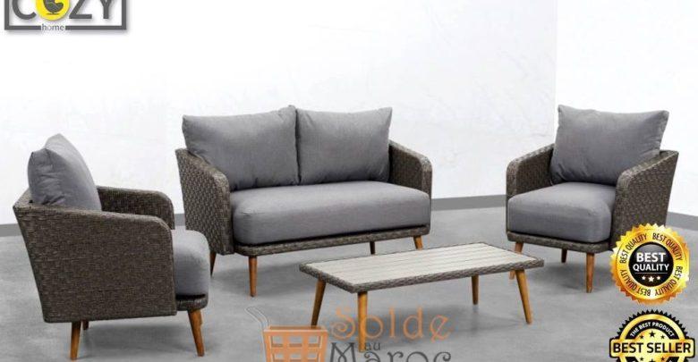 Cozy Home 3ème Démarque Canapé 2+1+1 ARENA 8999Dhs au lieu de 10999Dhs