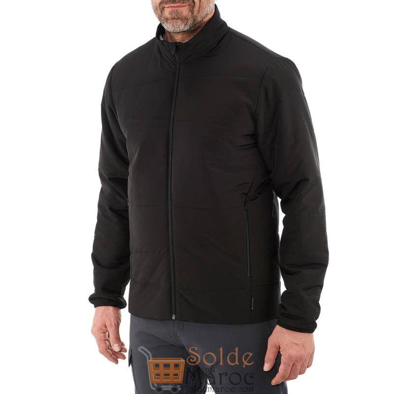 Soldes Decathlon Doudoune randonnée homme Arpenaz 20 noir 159Dhs au lieu de 169Dhs