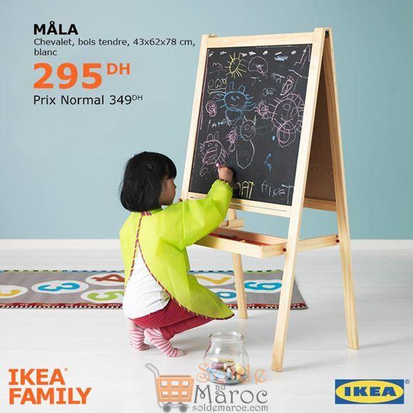 Soldes Ikea Family Chevalet MALA 295Dhs au lieu de 349Dhs