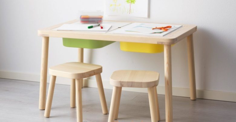 Photo of Soldes Ikea Family Table enfant FLISAT 799Dhs au lieu de 999Dhs