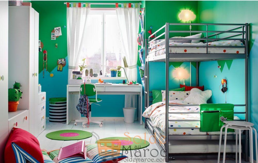 soldes ikea family cadre de lits superpos s sv rta 2249dhs. Black Bedroom Furniture Sets. Home Design Ideas