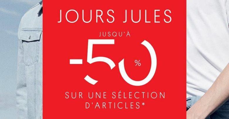 Soldes Jules Maroc Jusqu'à -50% sur une sélection d'articles
