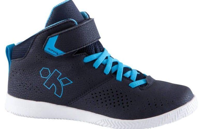 Soldes Decathlon Chaussures Strong 100 De Basketball Garcon/Fille Pour Debutant Navy Bleu 199Dhs au lieu de 239Dhs