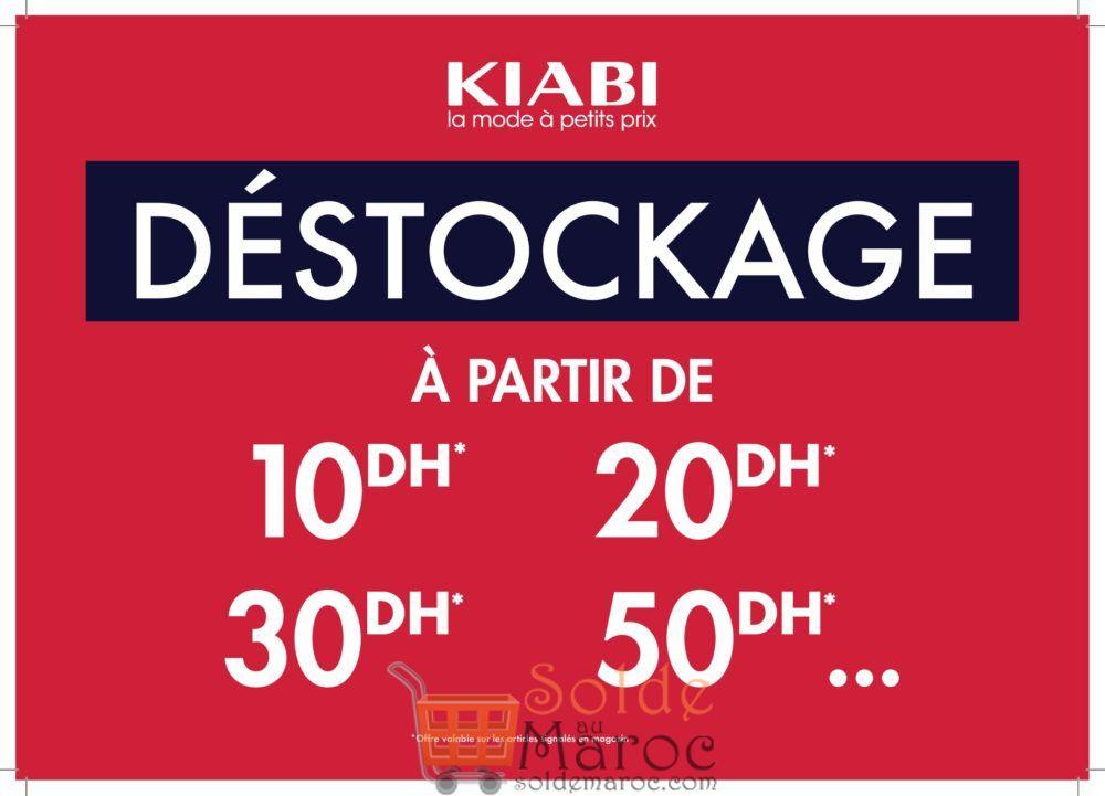 Grand Déstockage Rentrée Scolaire Kiabi Maroc